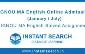 IGNOU MEG Online Admission