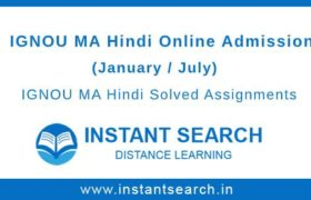 IGNOU MHD Online Admission