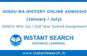 IGNOU MHI Online Admission