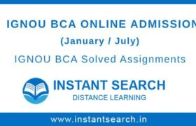 IGNOU BCA Online Admission