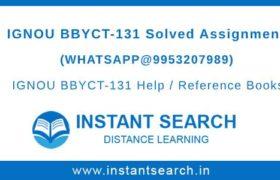 BBYCT131 Assignment