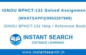 BPHCT131 Assignment