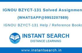 BZYCT131 Assignment